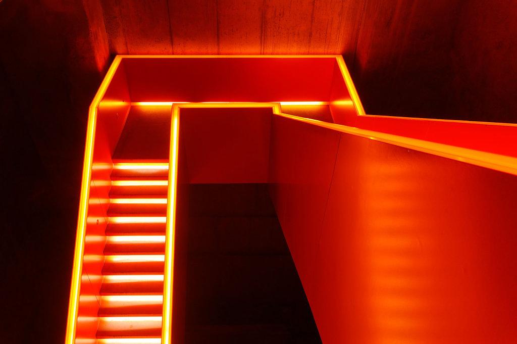 Treppe im Ruhrmuseum