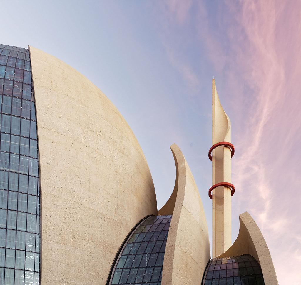 Zentral Moschee Köln / Arch. Paul Böhm