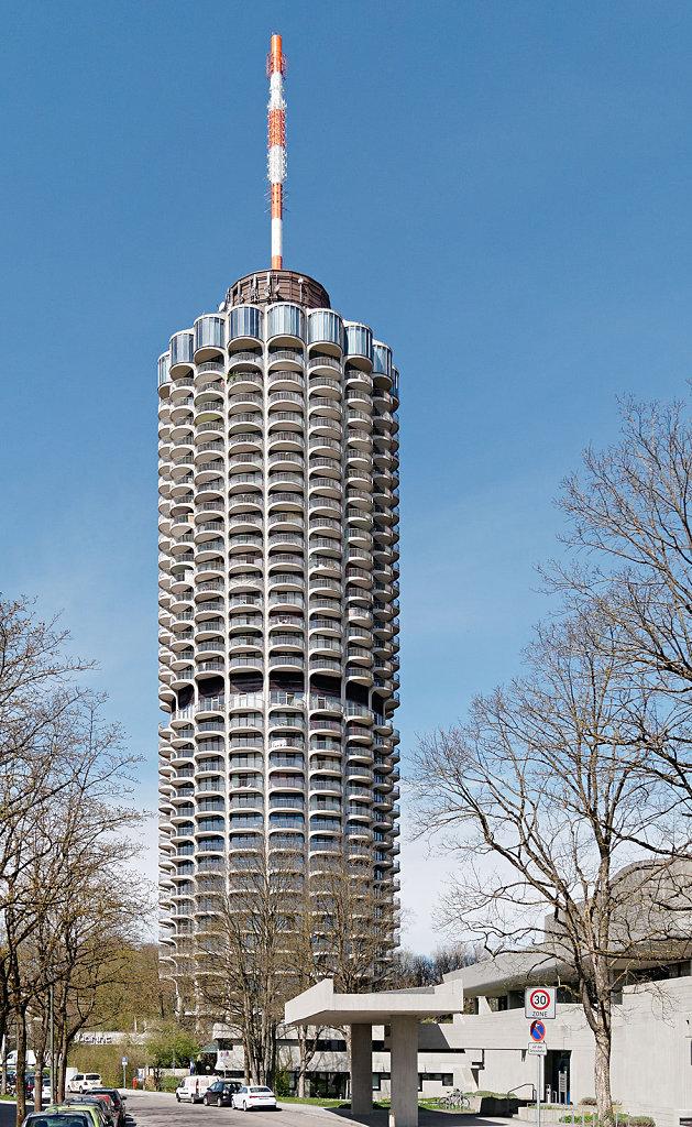 Hotelturm Augsburg / Arch. Otto Schnitzenbaumer
