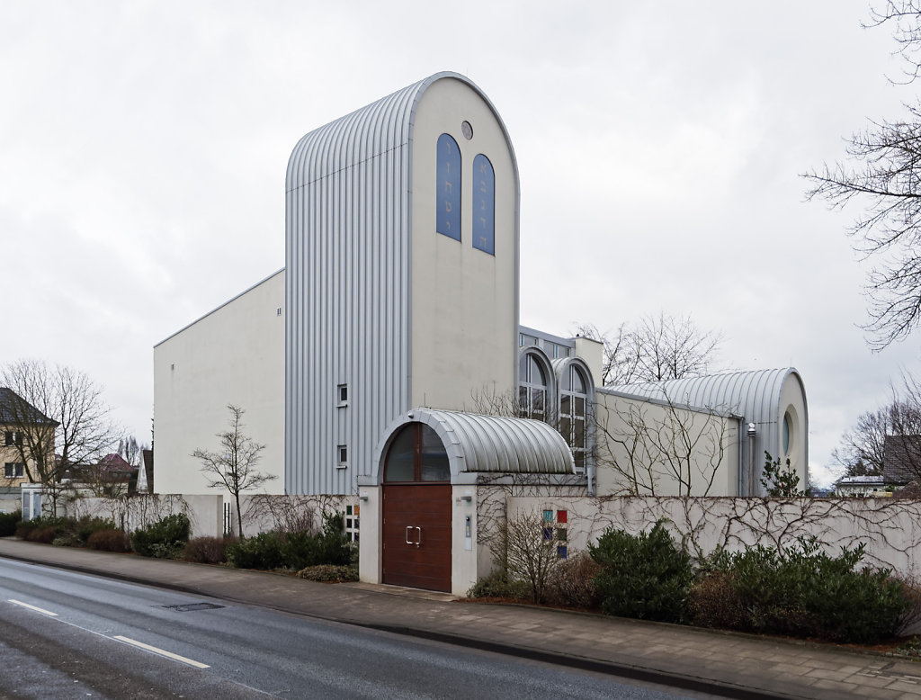 Synagoge in ehemaliger Kirche