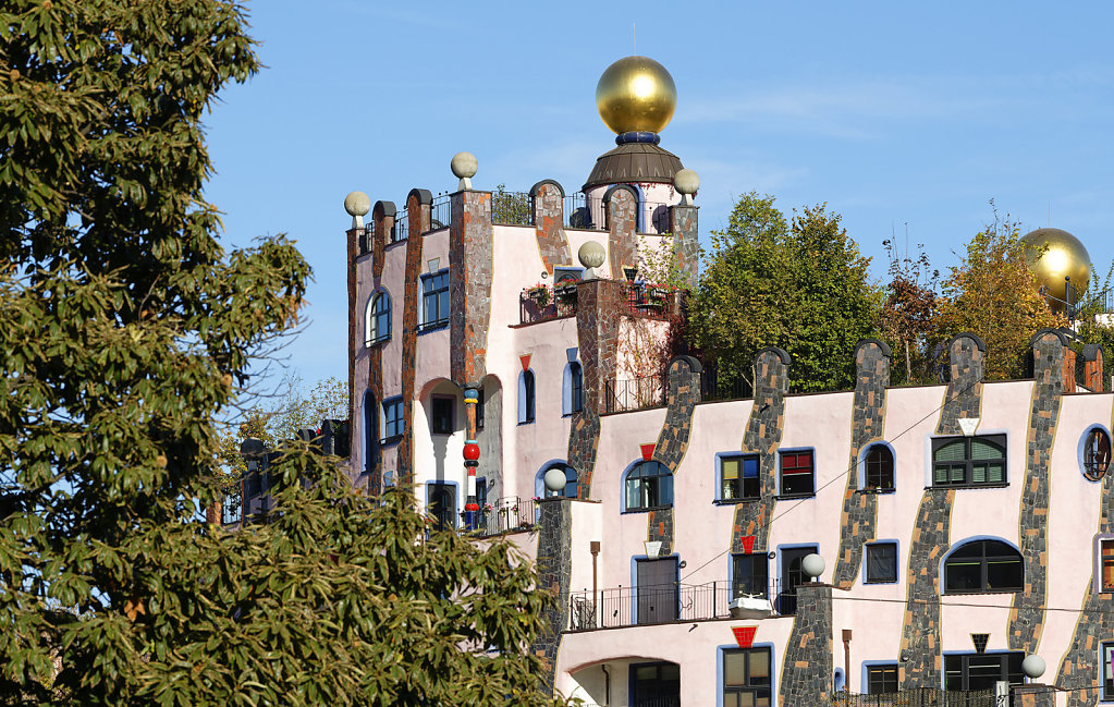 Hundertwassers Grüne Zitadelle von Magdeburg
